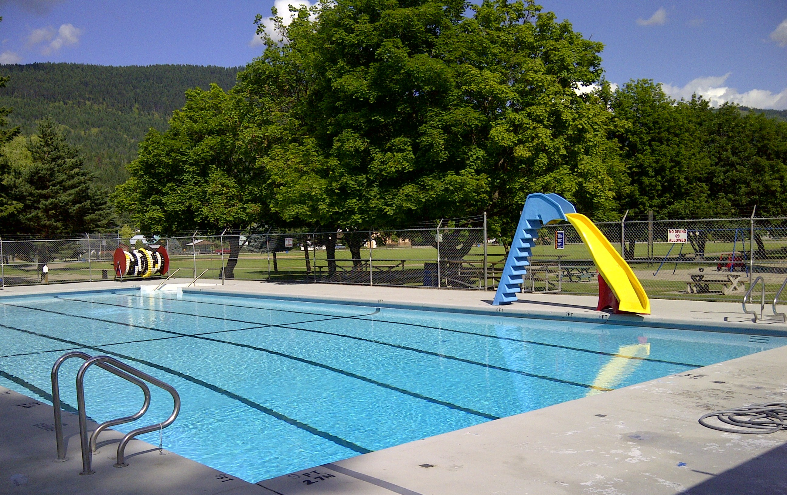 Lumby Outdoor Pool